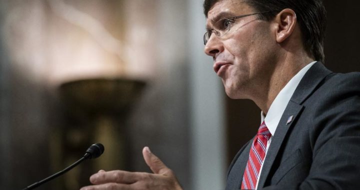 Mark Esper US Defense Secretary
