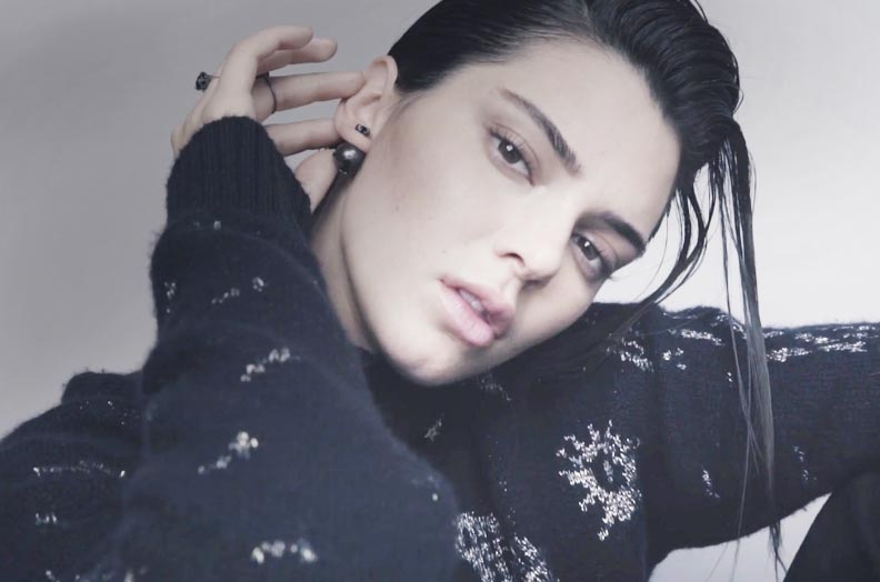 Kendall Jenner strips down and opens up during her interview with CK