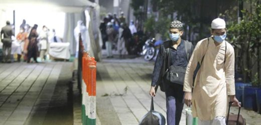 230 pilgrims at Nizamuddin Mosque, in Delhi develop symptoms.