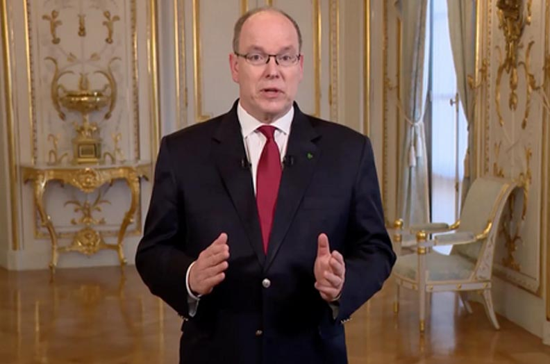 Prince Albert of Monaco tests positive for Covid-19
