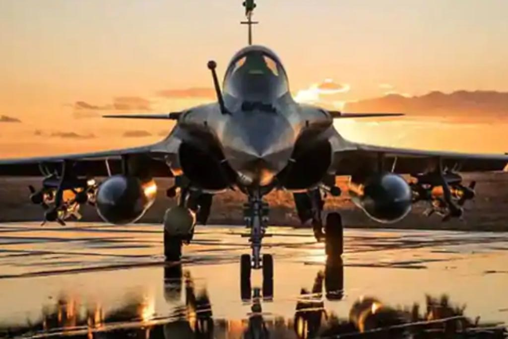 Rafale arrived in India; No more crossing the border to burn down terrorist bases.