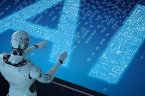 Artificial intelligence approaches human intellectuality.
