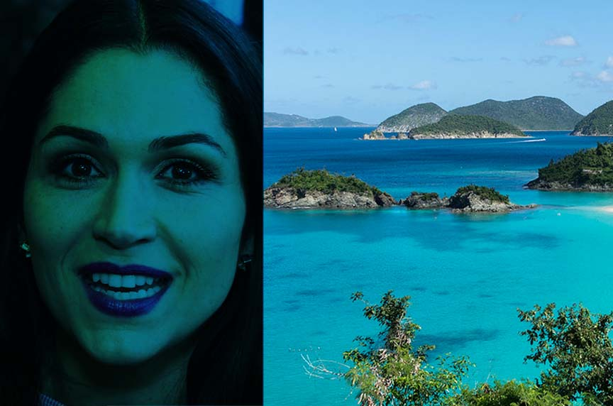 Why Loren very much found with Caribbean islands?